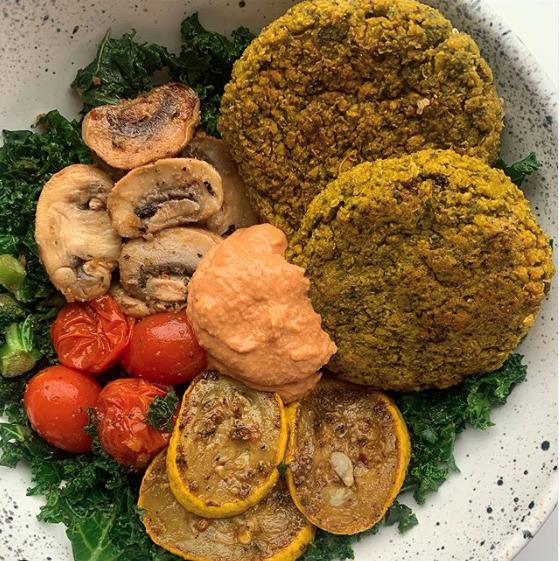spinach-quinoa-burger